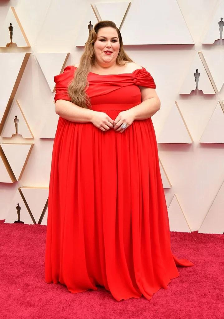 Christy Metz Oscars 2020 (PopSugar / Getty)