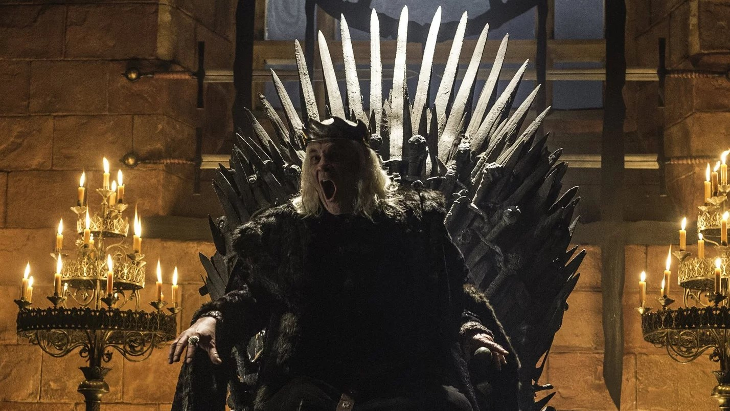 iron throne chair teal cushions who sits on the popsugar celebrity uk