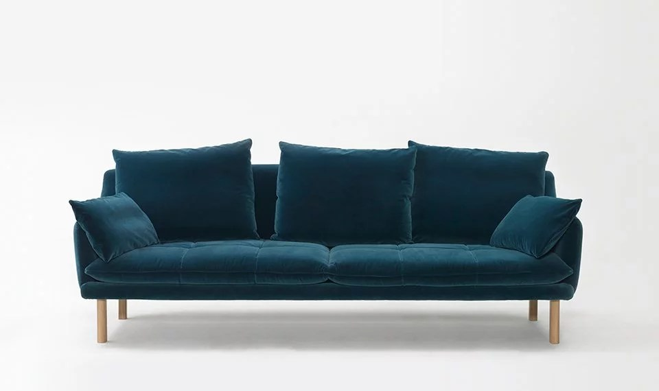 West Elm Tufted Sofa