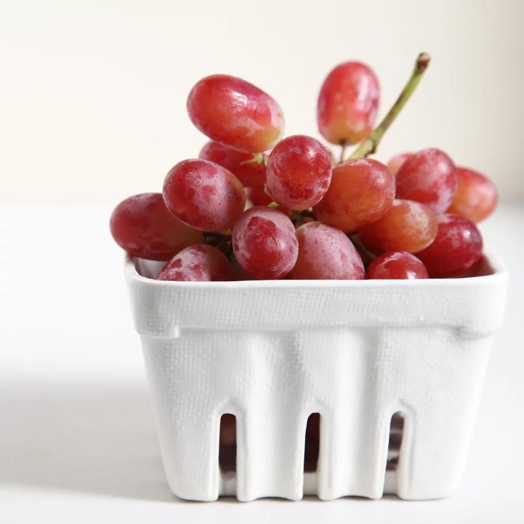 Eat a few grapes