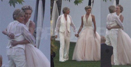 Photos Of Ellen DeGeneres, Portia De Rossi On Their