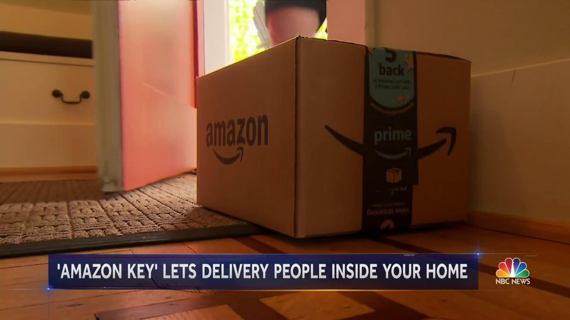 Amazon Will Now Deliver Inside Your Home — And Record The