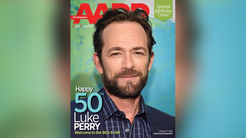 Image result for luke perry aarp