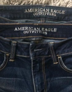 Woman blasts american eagle   jeans sizing also is the new rh today