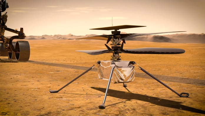 NASA helicopter set for historic first flight on Mars