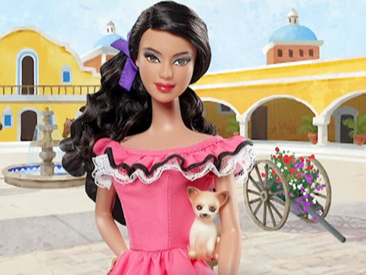 Is Mexico Barbie a stereotype or stylish  TODAYcom