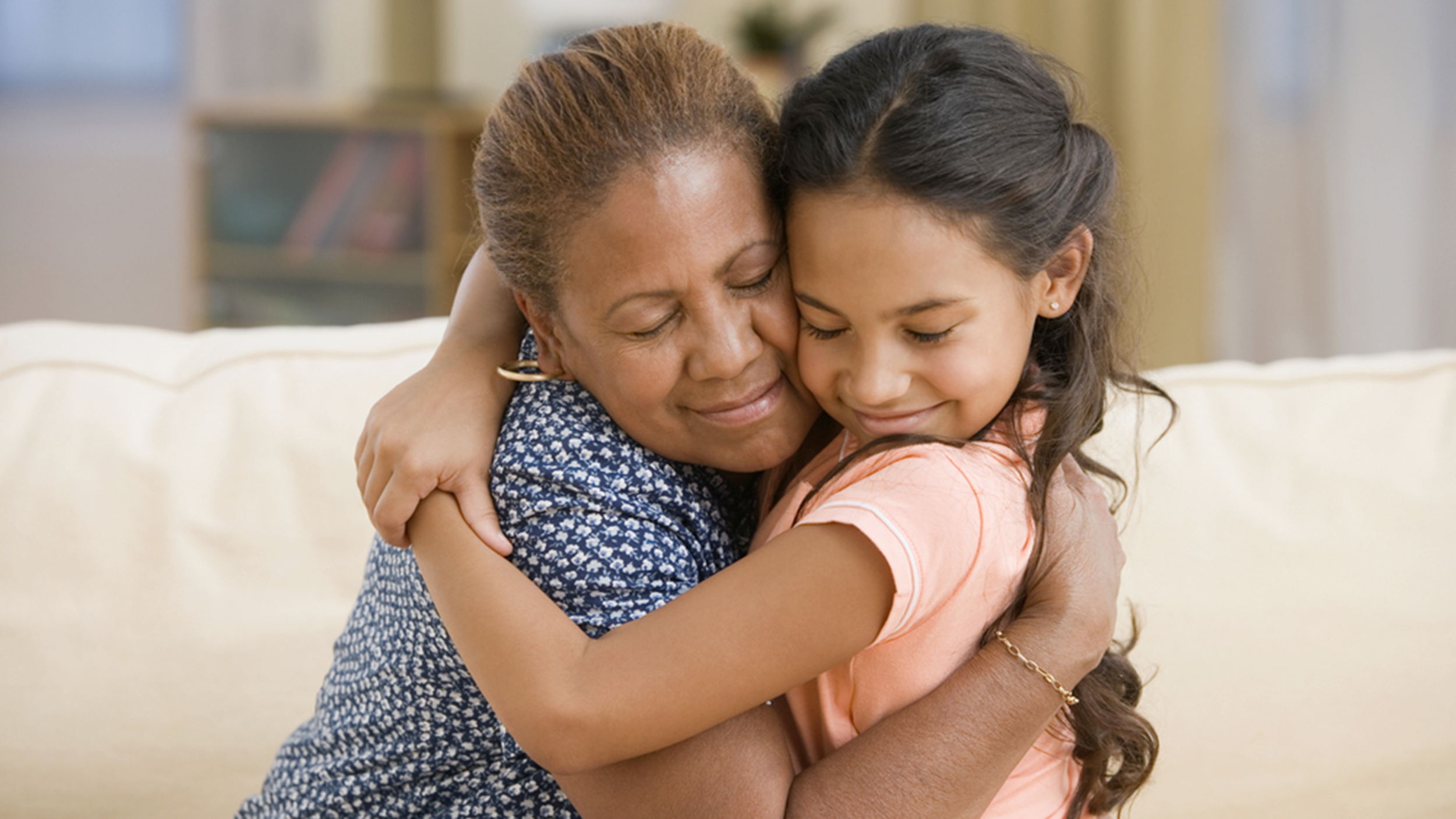 A hug a day may keep the sniffles away