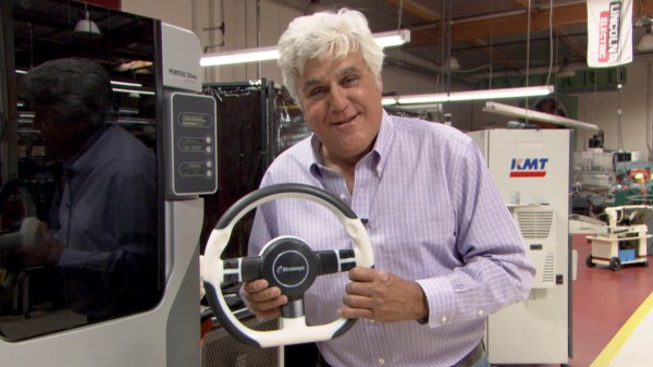 Jay Leno Garage 3d Printer - Year of Clean Water