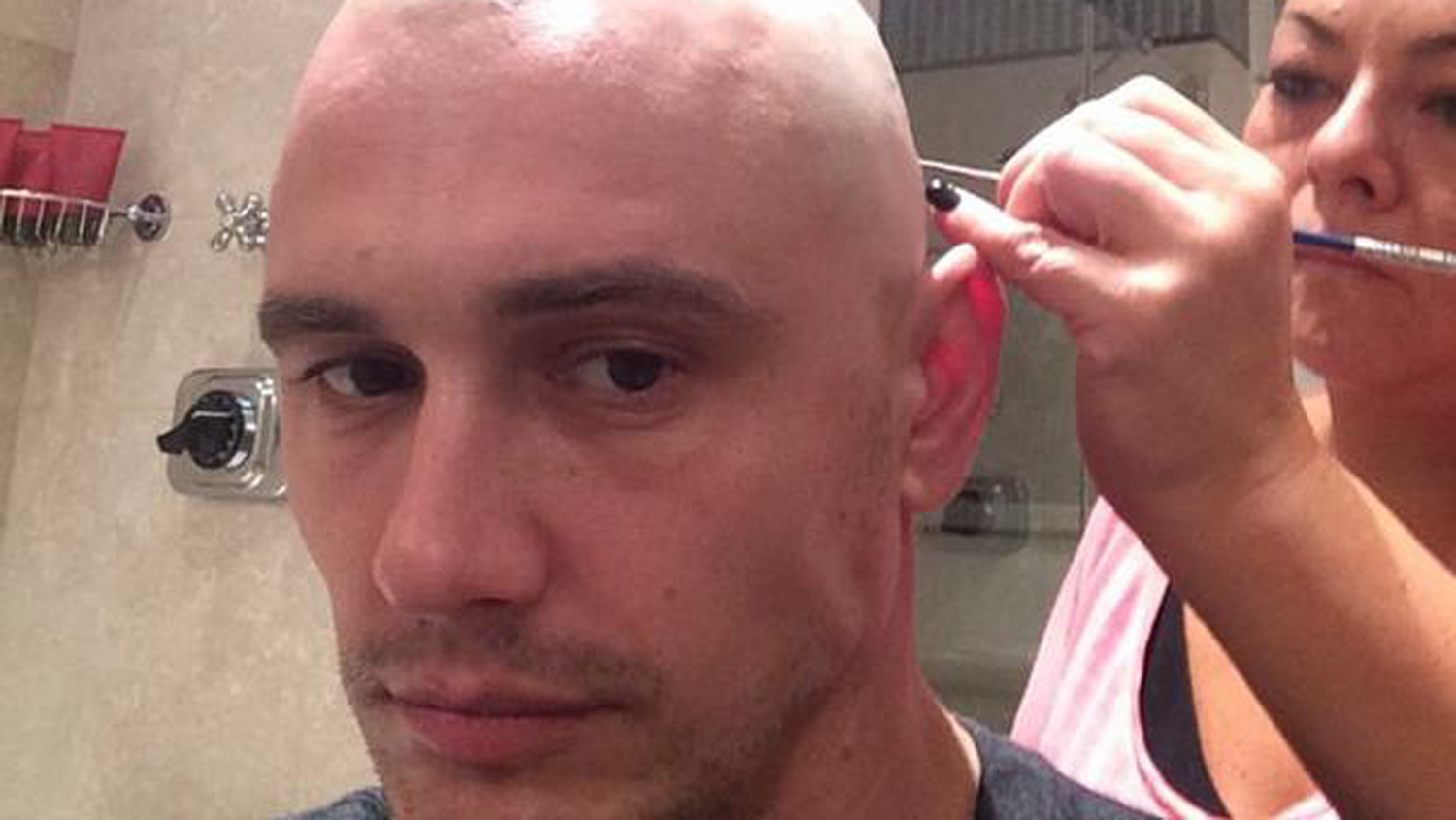 James Franco shaves head shares bald selfies on Instagram