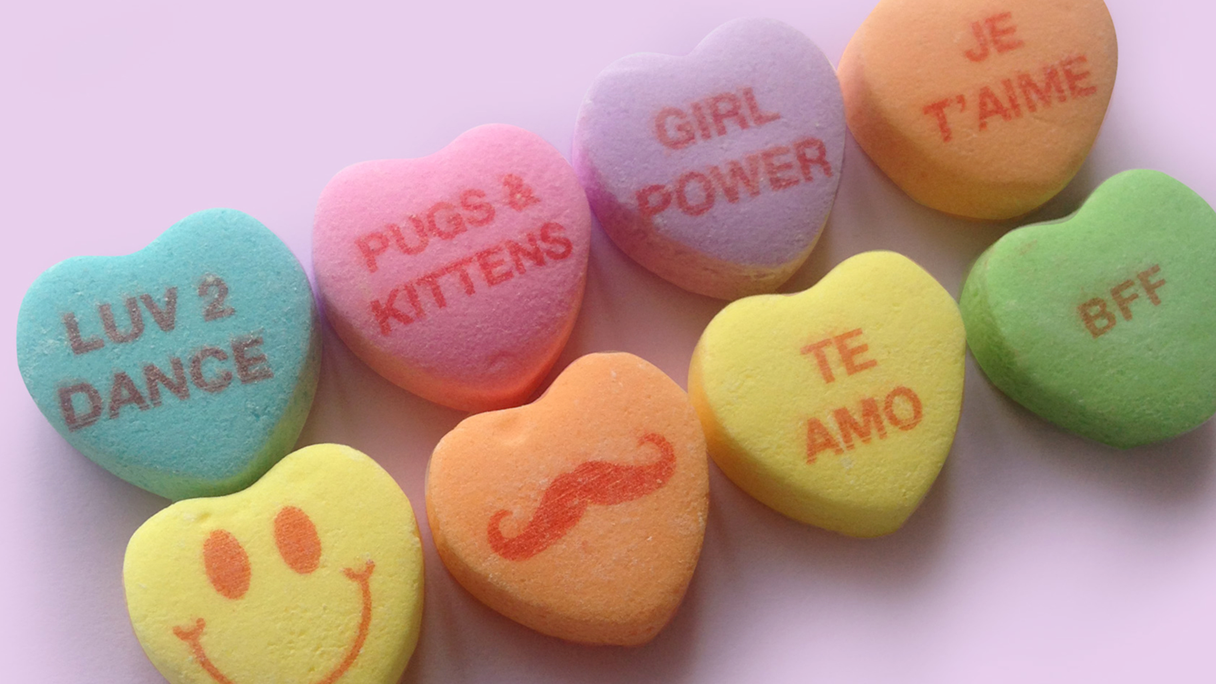 Valentine Candy Hearts Have Puppy And Kitty Love This Year