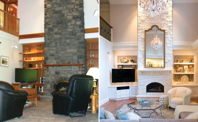 Living Room Makeovers Interior Designers Share Before And