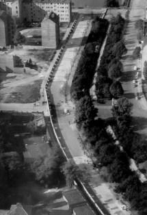 Berlin Wall Aerial