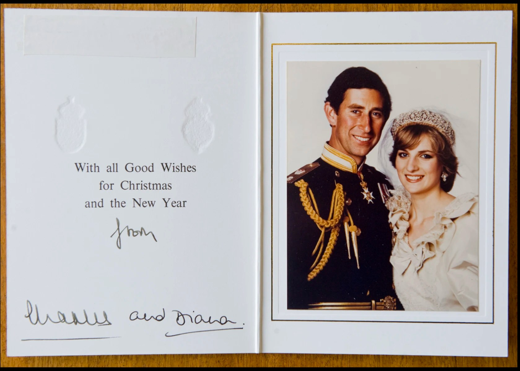 Palace Unveils Christmas Card From Prince Charles And