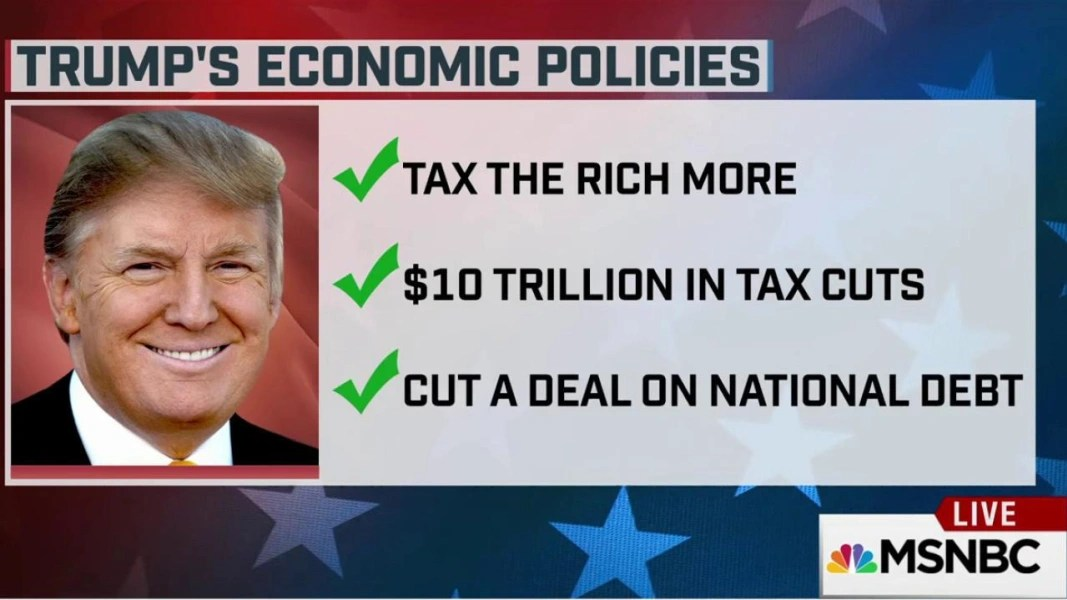 Image result for the trump economic policies lead to more debt