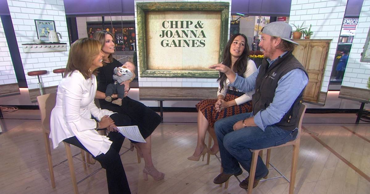 Joanna Gaines talks life with baby Crew Hes a gift