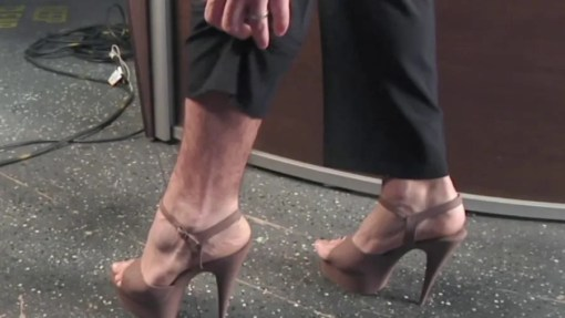 Image result for Matt Lauer in heels