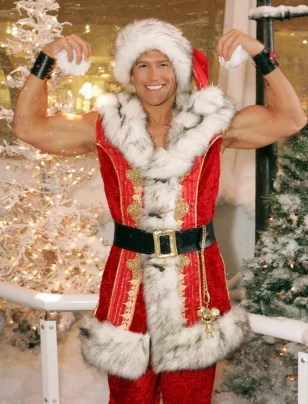 Hunky Santa Aims To Get You Hot Business Small