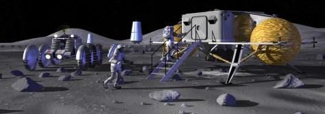 NASA to set up polar moon camp  Technology  science