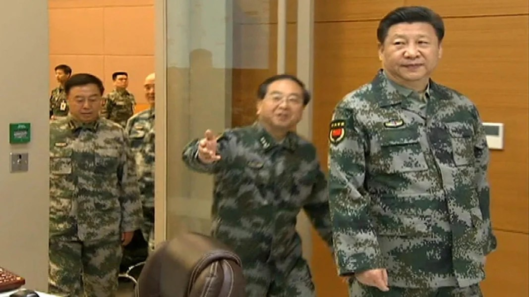 Image result for china's military leader, Xi Jinping