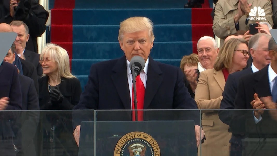 Image result for trump's inaugural