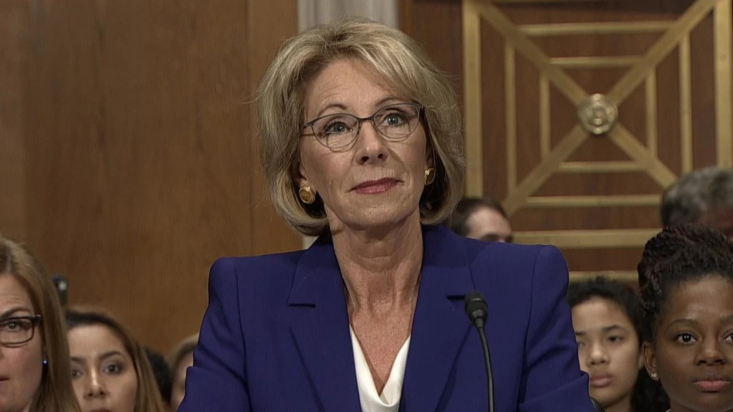 Image result for betsy devos photo