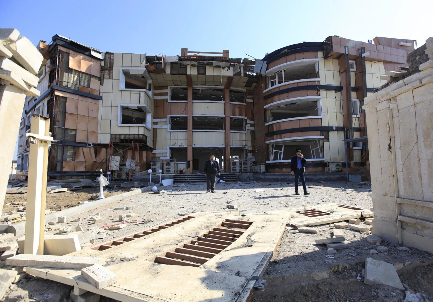 Bomb Blasts In Iraq Kill 49 Officials  Nbc News