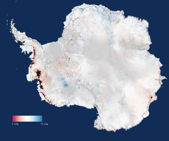 Image: Antarctic ice loss