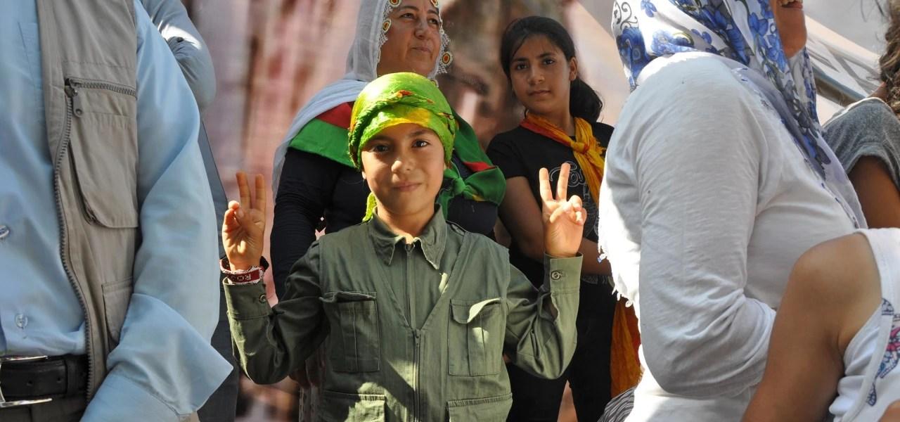 PKK rally