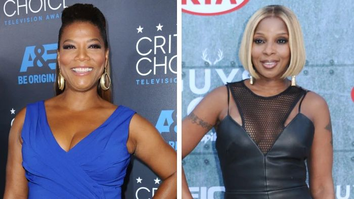 Queen Latifah and Mary J. Blige