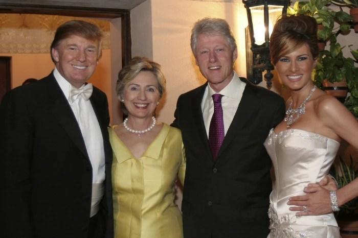 Image result for хиллари и билл клинтон трамп