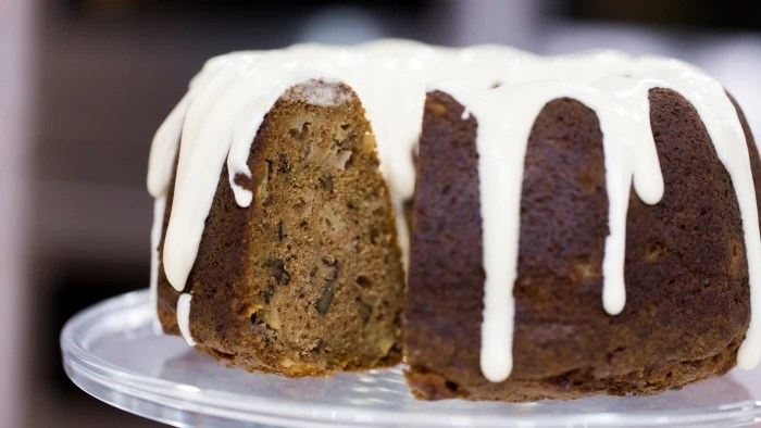 Spiced Apple Walnut Cake with Cream Cheese Icing  TODAYcom