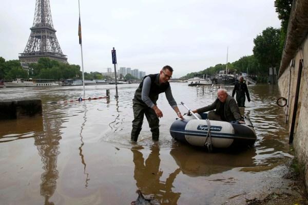 Paris France Flooding