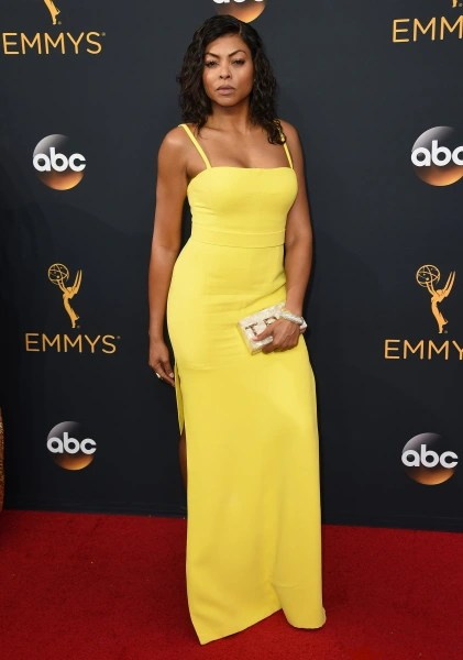 Image result for taraji p henson gown 2016 emmys