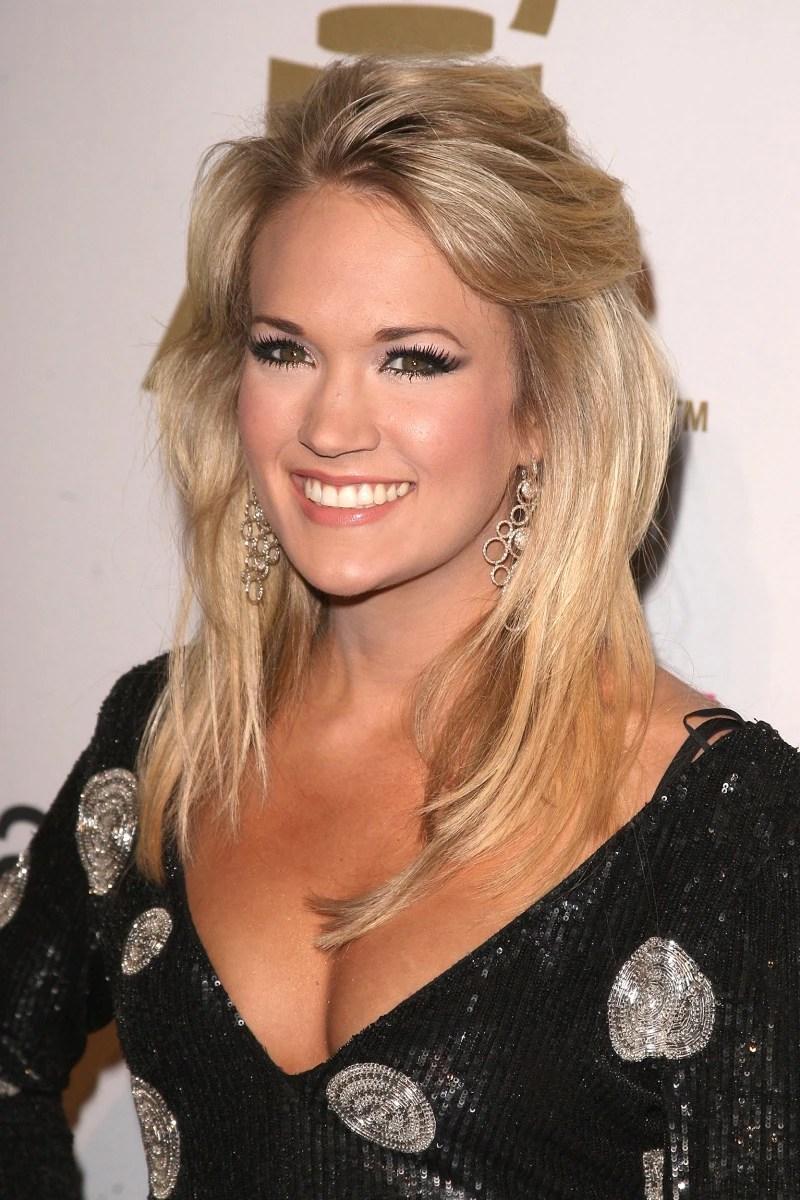 Carrie Underwoods Hair Evolution