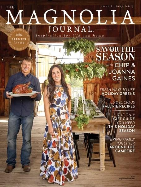 The Magnolia Journal Fixer Upper Magazine  TODAYcom