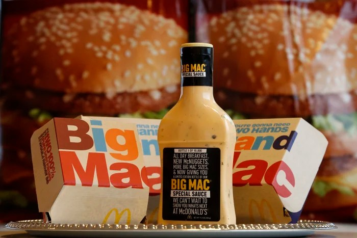 McDonald's is giving away Big Mac Sauce - TODAY.com