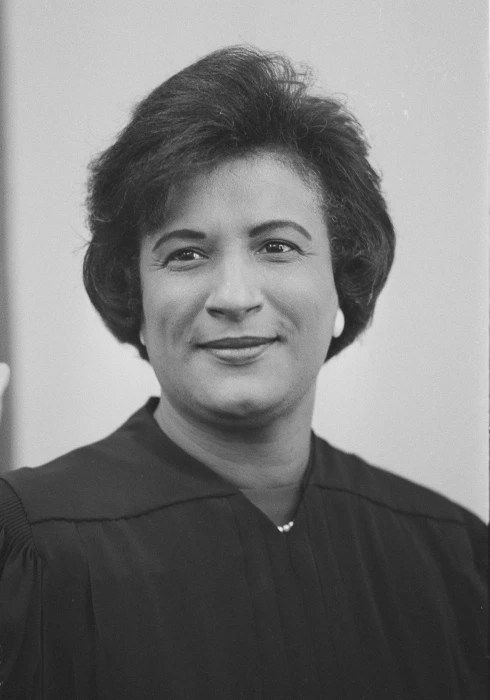 Image: Federal Judge Constance Baker Motley is seen at the U.S. Courthouse in New York on Sept. 9, 1966.