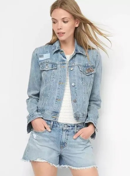 Gap Denim Jacket from the Gap seen on Today Show Deals and Steals