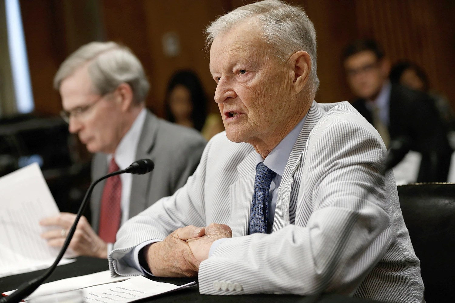 NSA to Jimmy Carter Zbigniew Brzezinski passes away