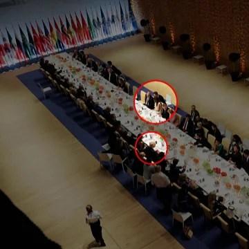 Image: Trump and Putin at dinner