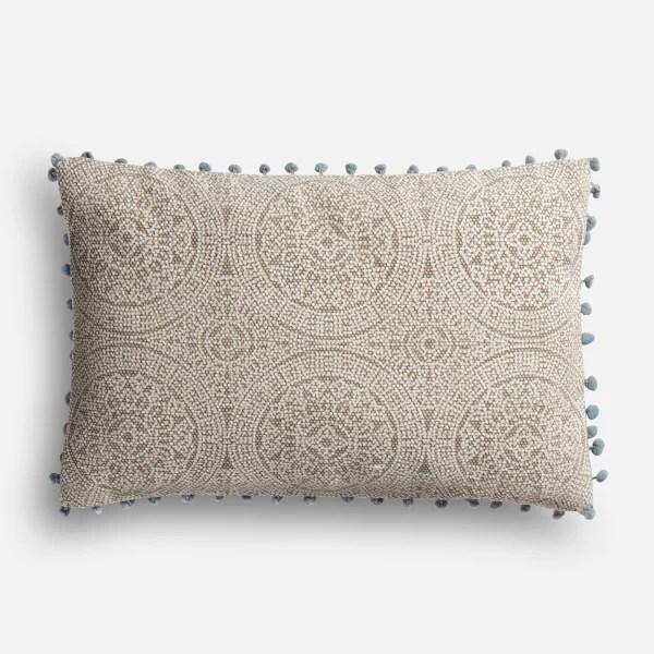 Magnolia Home Ruby Gray & Slate Lumbar Pillow
