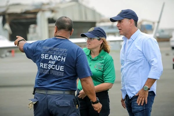 Image: Puerto Rican Mayor Carmen Yul?n works on restoring resources and helping victims of Hurricane Maria.