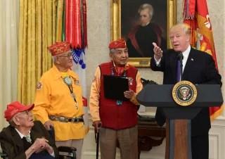 Donald Trump,Thomas Begay,Peter MacDonald