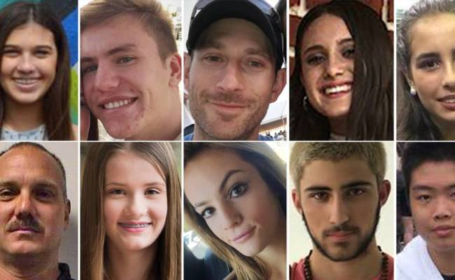 Florida School Shooting These Are The 17 Victims