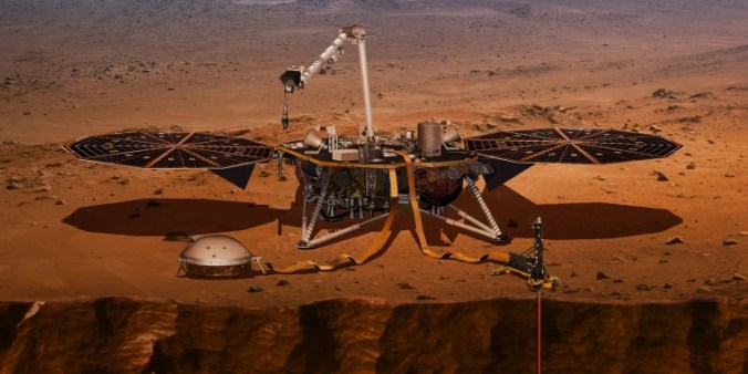 Image: InSight lander on Mars