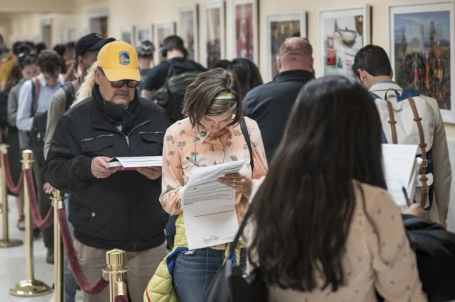 Image: Voters Cast Ballots In The California Primary Election