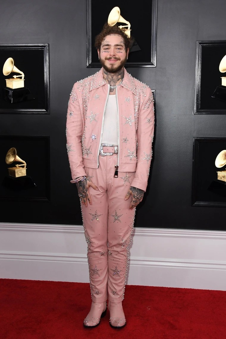 Image: Post Malone at Grammys 2019