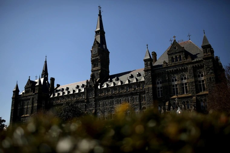 Georgetown University expels two students caught up in college admissions scandal