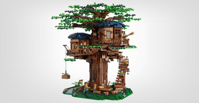 Lego tree house