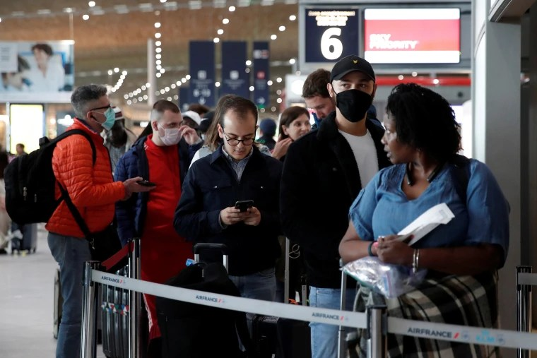 Coronavirus: Trump slaps travel ban on Europe, Tom Hanks tests ...